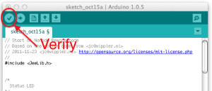 Arduino IDE verify (click to enlarge)