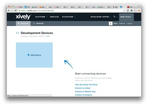 Xively add device (click to enlarge)